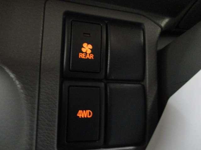 4WDスイッチ 冬でも安心です!