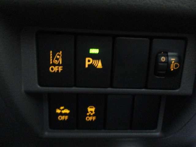 衝突被害軽減ブレーキ 誤発進抑制装置 充実の安全装備♪