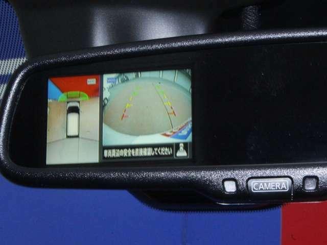 360℃真上から見下ろした映像が映し出されるアラウンドビューモニター搭載☆安全安心ですね