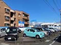 車両の整備は当店すぐ近くの伊勢崎つなとり店はじめ当社の多店舗もご利用いただけますので、ご安心ください。
