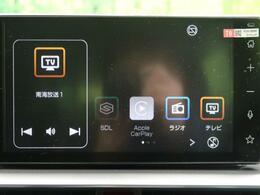 【純正ディスプレイオーディオ】フルセグTVやBluetooth機能など便利機能が装備。スマホ連携でほかの機能も使用できます。