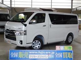 トヨタ ハイエースバン キャンピングカー FOCS(フォックス)製 エスパシオes ディーゼルターボ 4WD