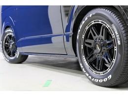 タイヤはGoodyear EAGLE1 NASCARタイヤ!!!!ホワイトレターがかっこいいです!!!!