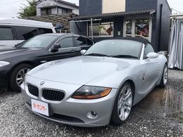 BMW Z4 ロードスター2.5i 黒革シート ETC 社外マフラー