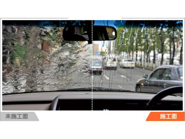 Aプラン画像:良好な視界確保は安全運転への備えの一つです。