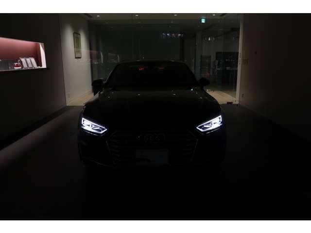 ■アウディのヘッドライト、テールランプは車種によって違います。車種によって個性があり、見た目のシルエットに強いこだわりを持っています。