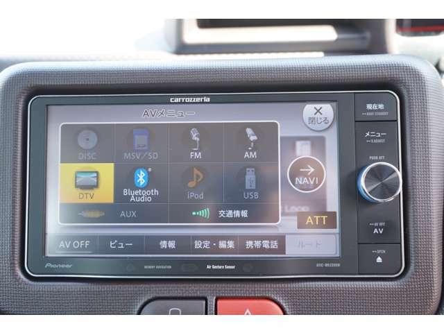 Bluetooth、外部入力、USB等対応しています!