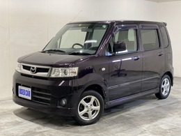 マツダ AZ-ワゴン 660 カスタムスタイル X 4WD シートヒーター HID ドアバイザ CD再生
