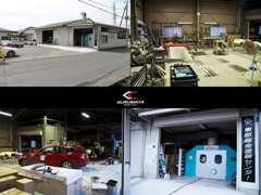 自社鈑金工場です、静岡県富士市江尾428
