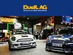 BMW MINI用アフターパーツの「DuelL AG」の正規取扱店です。MINIのカスタムのことならお任せください!