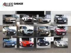 お陰様で多種多様なお車を、広島県内~遠方のお客様まで販売させて頂きました。輸入車以外でも国産車、注文販売もお任せ下さい。