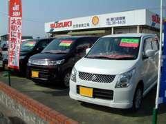 新車はもちろん、届出済未使用車もお買得な価格にて展示中!試乗もできますのでお気軽にご来店ください。