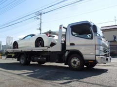 最新自社フルフラットローダー完備で遠方のご納車や車高短車輛も安心!当社一同購入頂いてからがお付き合いと考えております!