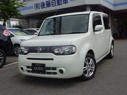 日産 キューブ 1.5 15X FOUR Mセレクション 4WD ナビTV バックカメラ ドラレコ ETC