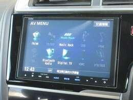 ナビゲーションはホンダ純正8インチメモリーナビ VXM-145VFEi が装着されております。AM、FM、CD、DVD再生、音楽録音再生、フルセグTV、Bluetoothがご使用いただけます。