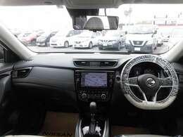 見通しが良く運転しやすい視界となっております。