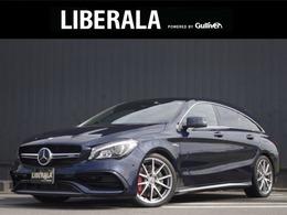メルセデスAMG CLAシューティングブレーク CLA 45 4マチック 4WD AMGスタイリングPKG/SR/HDDナビ/黒革/LED