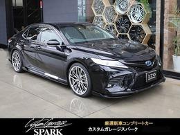 トヨタ カムリ 2.5 WS アーティシャンスピリッツコンプリート