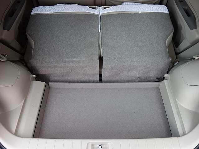 大きなトランクでお荷物もしっかり積んじゃいます。