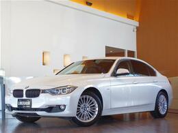 BMW 3シリーズ 320i ラグジュアリー 社外TV 黒革 ミネラルホワイト Bカメラ