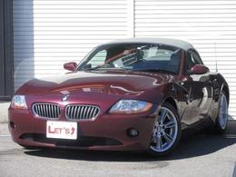 BMW Z4 ロードスター3.0i ベージュ革フルノーマル Bカメラ 禁煙車
