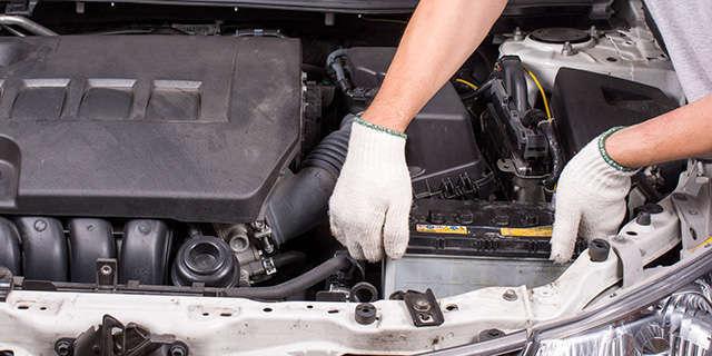 定期交換部品のバッテリー!ご納車の際にはもちろん新品に交換致します!