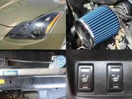 スモークヘッドライト HPIエアクリ BLITZアルミラジエーター パワーシート シートヒーター装備