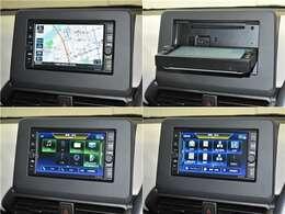【ナビゲーション】ワイドで明るい液晶画面、簡単な操作方法、多機能ナビゲーション。知らない街でも安心です。 ≪オリジナルナビ 型番:MJ120D-WM≫