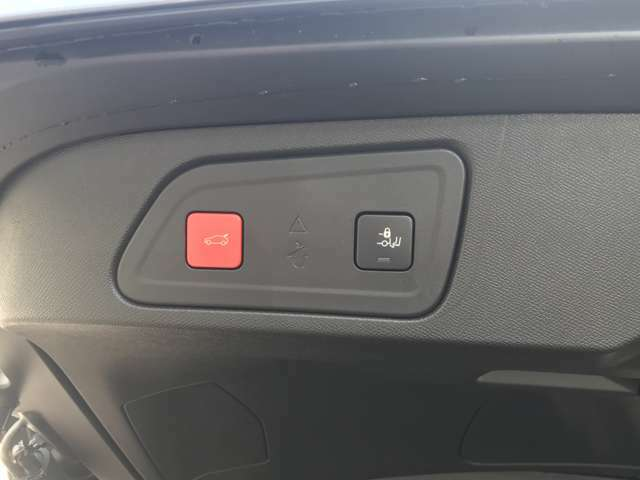 電動テールゲート付き!リアバンパーの下に足を入れてると開閉できます。