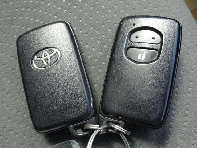 スマートキーは鍵を出さなくても開けたり閉めたりでき何かと便利ですよ♪
