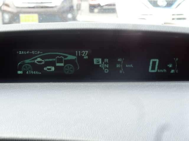 ドライバーが必要とするさまざまな情報を画面に表示♪