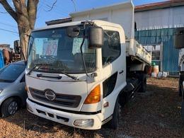 日野自動車 レンジャープロ 4t ダンプ