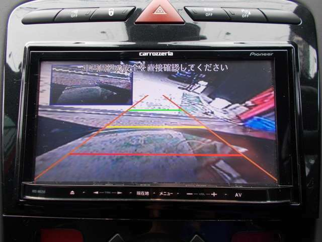 カロッツェリアSDナビ 地デジフルセグテレビ バックカメラ DVD再生 ブルートゥース USB AUX