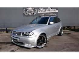 BMW X3 3.0i 4WD ハーマンワイド仕様 21AW&マフラ 検05/05