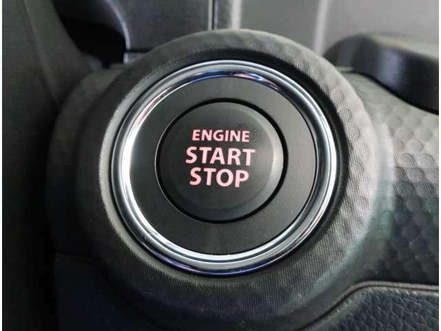 キーレスプッシュスタートシステム☆携帯リモコンを身に付けていれば、ボタン一つでエンジン始動が可能です☆カギは手持ちの鞄にいれたままでOK!乗り込んだらすぐに発進!レッツゴー!!