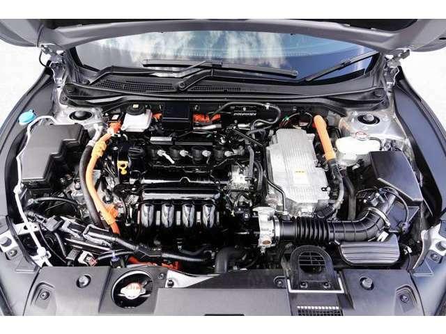 1500CCI-MMDハイブリッドシステム2モーター式です。