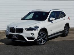 BMW X1 xドライブ 20i xライン 4WD 19AWデビューP黒革禁煙1オナ認定中古車