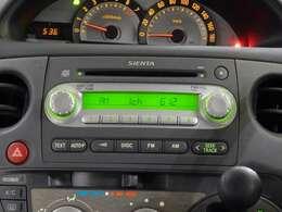 CDオーディオを装備してます。