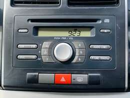 純正CDプレイヤー装備