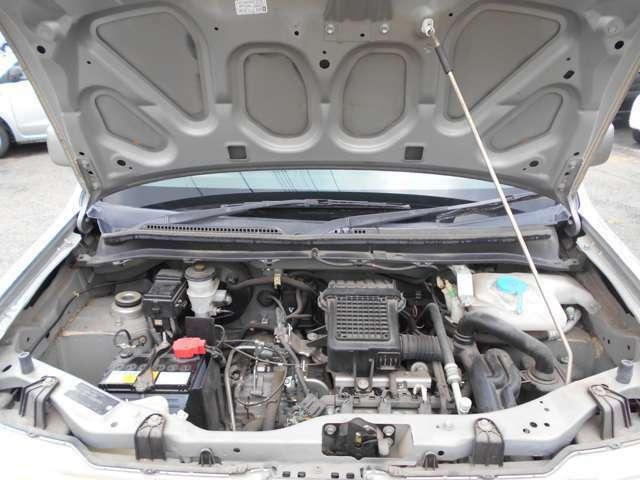 エンジンは洗わず撮影しています
