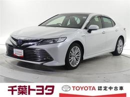トヨタ カムリ 2.5X サンルーフ 本革シート 衝突回避システム