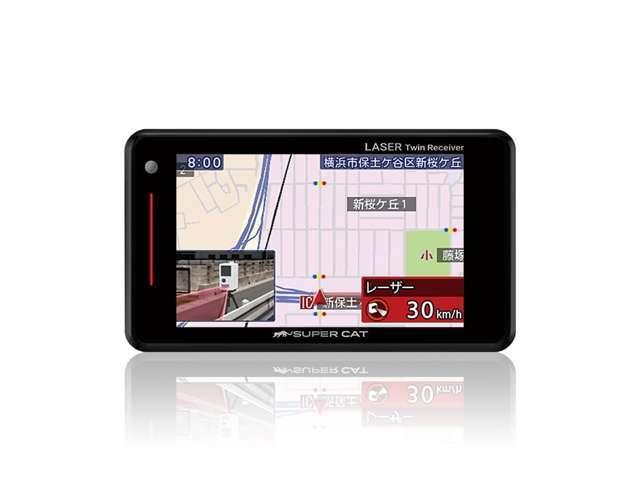 Bプラン画像:今やどこで張っているかわからない移動型オービスに対応!GPS型のレーダーでは体感できないレーザー型レーダーの精度で快適なドライブをどうぞ♪