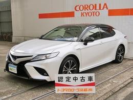 トヨタ カムリ 2.5 WS レザーパッケージ メーカーナビ ドラレコ 衝突回避ブレーキ