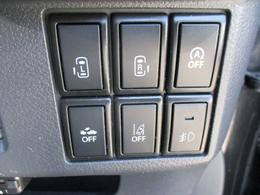 安全装備付き両側電動スライドドアー