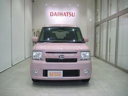 かわいいピンクの色です!内装のグリーンの差し色もいい感じですよ!
