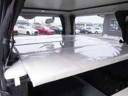 常設ベッド付き!上部ベッドは183×159の大型サイズ!