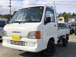 スバル サンバートラック 660 TC 三方開 4WD EL(スーパーロウ) 車検整備付 エアコン