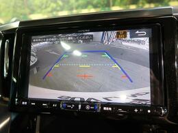カラーバックモニターを装備!【車庫入れや駐車の際にあると安心な装備です。純正ならではの、バックガイドラインも出てますので、ラインに沿って駐車すれば、ピッタリ収まります。】