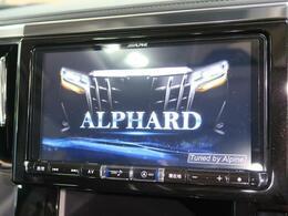 アルパイン9型BIG-Xを装備!【DVDや地デジ・フルセグTVの視聴、CDからの音楽録音、ミュージックプレイヤー、Bluetooth等の機能が備わっております♪】