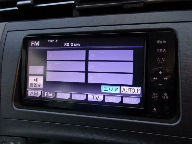 ■装備3■DVD再生機能|CDプレイヤー|フルセグTV|Bluetoothオーディオ電話